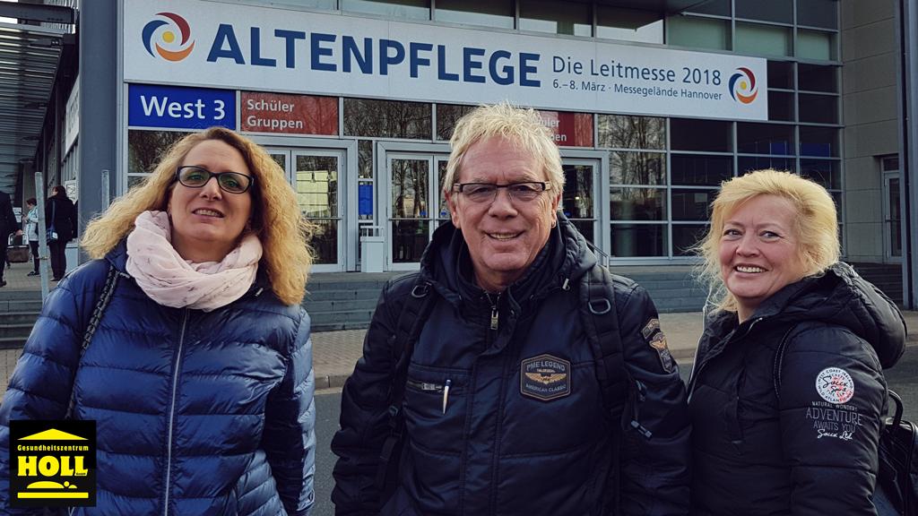 Besuch der Altenpflege Leitmesse in Hannover